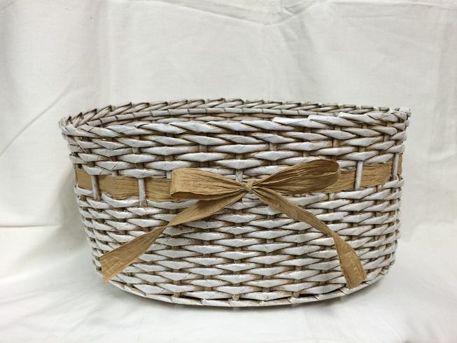Pletený košík (30x20cm) – Tvořivá dílna e4a91b11a4