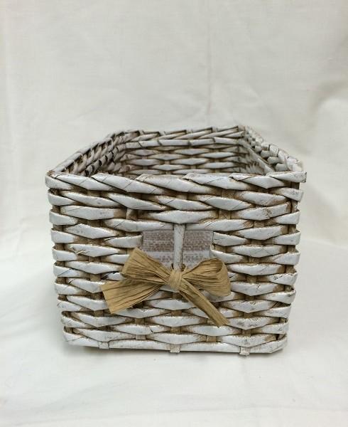 Pletený košík (25x15cm) – Tvořivá dílna 0c9eb9c177